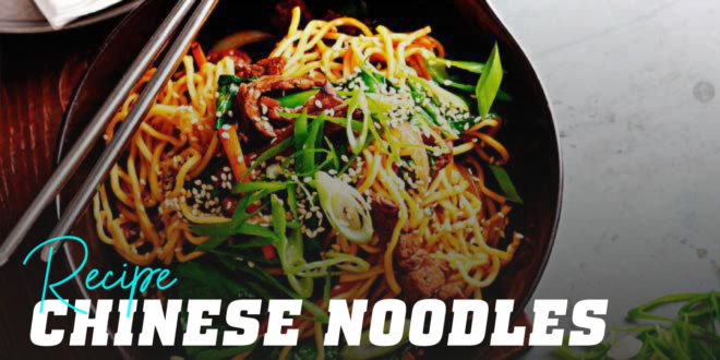 Beef and Sesame Chinese Noodles