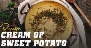 Cream of sweet potato