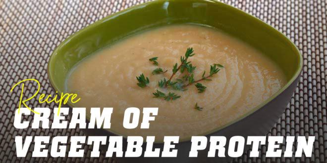 Plant Protein Cream