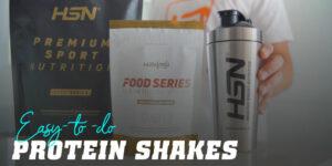 Easy to do protein shakes