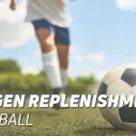 Glycogen replenishment in football