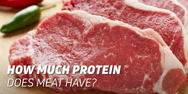 How Much Protein Is There in Beef?