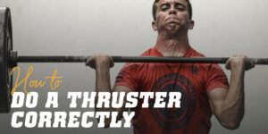 How to do a thruster