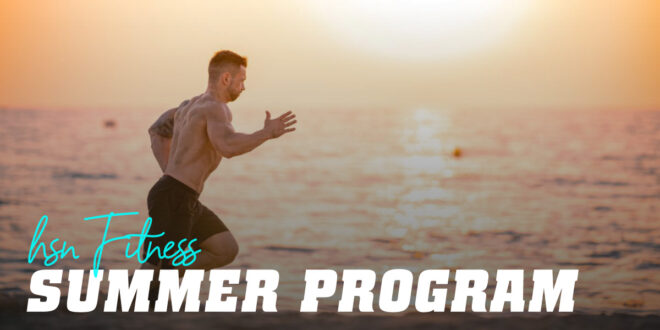 Summer Fitness Plan with HSN