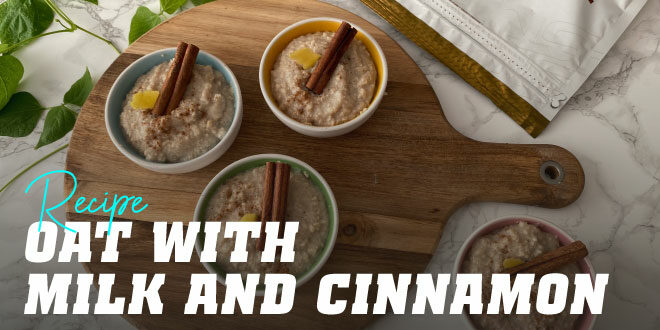 Oats with Milk and Cinnamon