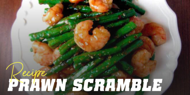 Prawn and Green Bean Stir-Fry