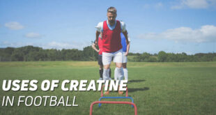 Uses of creatine in football