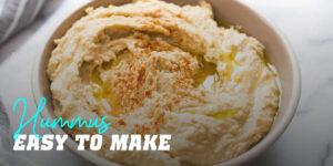 Hummus easy to make