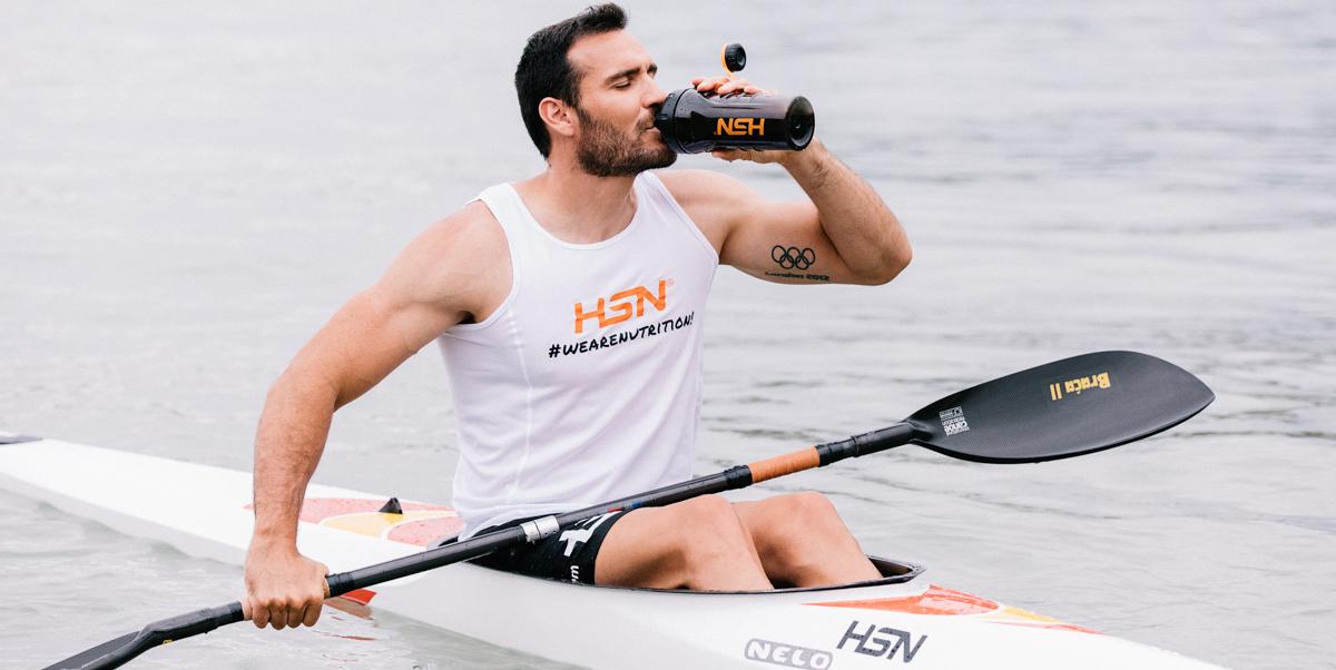 Training Saúl Craviotto