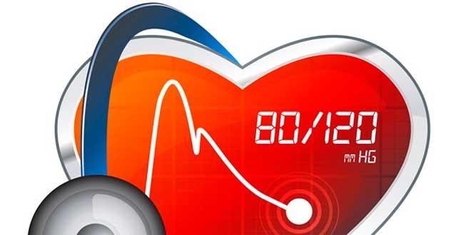 Blood pressure values