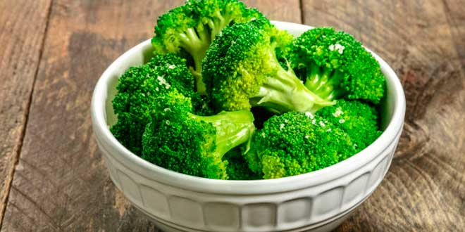 Broccoli Rich in antioxidants