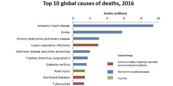 Causas de morte