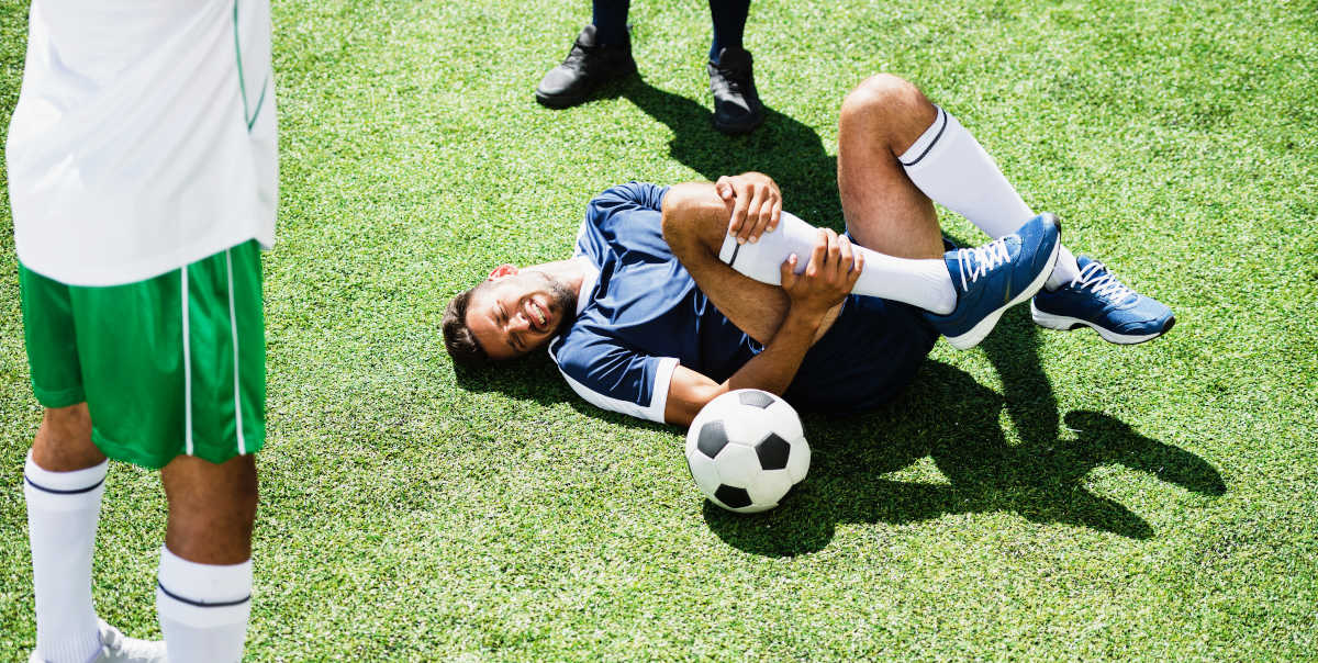 Common football injuries