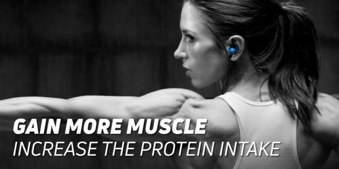 Increase Muscle Mass: Optimise Protein Intake