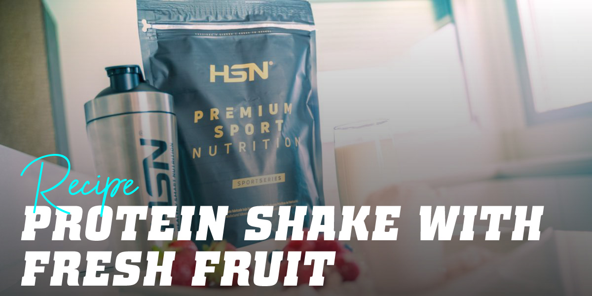 Protein Shake with Fresh Fruit