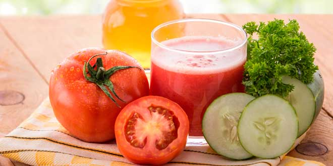 Tomatoes antioxidant