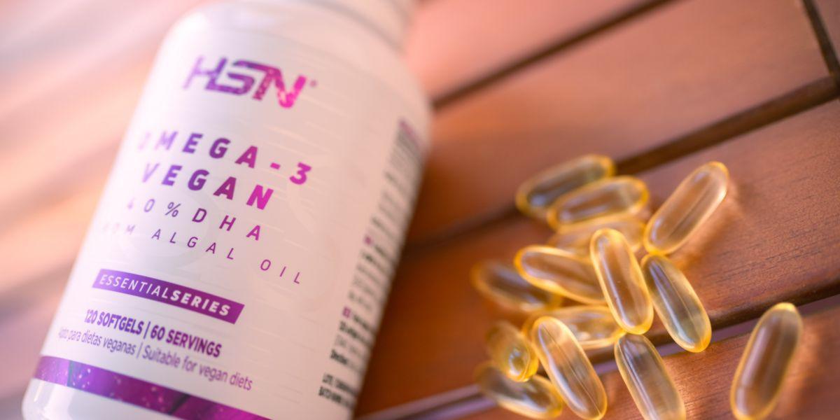 Algal oil omega-3 vegan