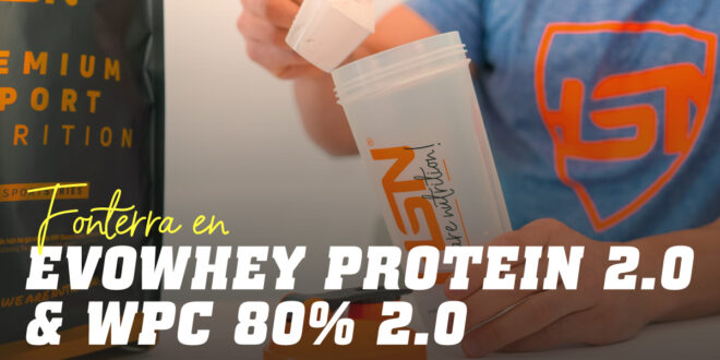 What's behind our Evowhey Protein 2.0: WPC 80% – 450 Instant by Fonterra