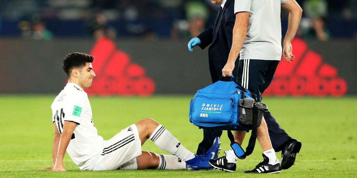 Hamstring football muscle injury