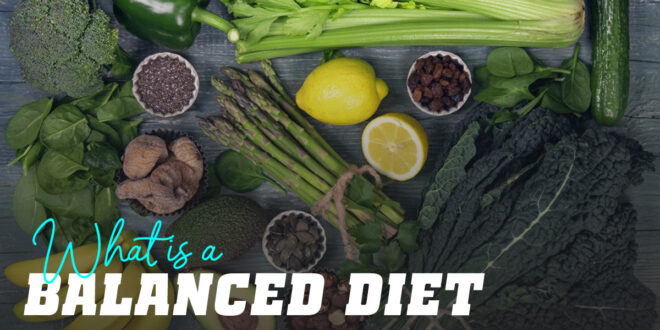 How to construct a Balanced Diet?
