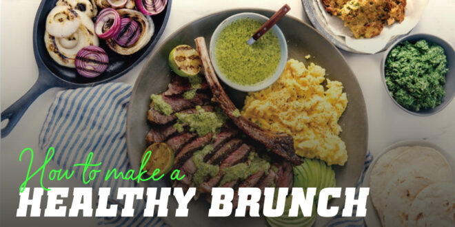 Fitness Brunch: Ideas for preparing a healthy snack