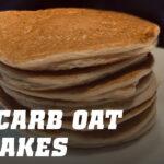 Low Carb Oat Pancakes