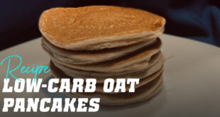 Low Carb Oat Pancakes