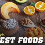 Main foods with potassium