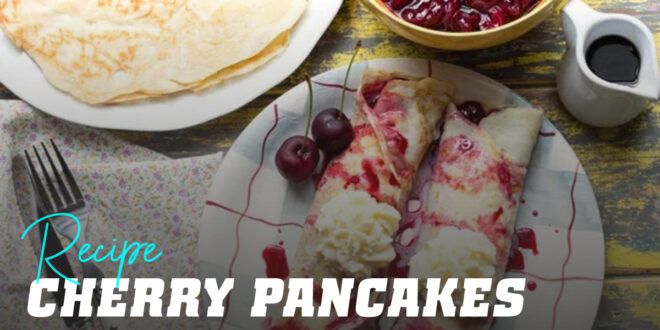 Oats and Egg Whites 'Cherry Pancake'