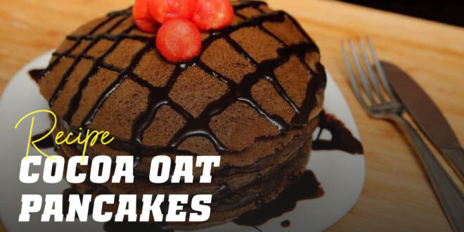 Oat Pancakes with Cocoa