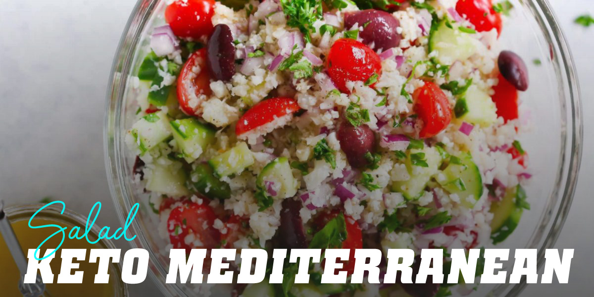 Mediterranean Keto Salad