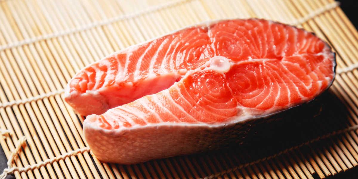 Salmon potassium level