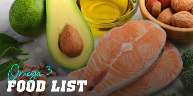Do you know the most Omega 3-Rich foods?