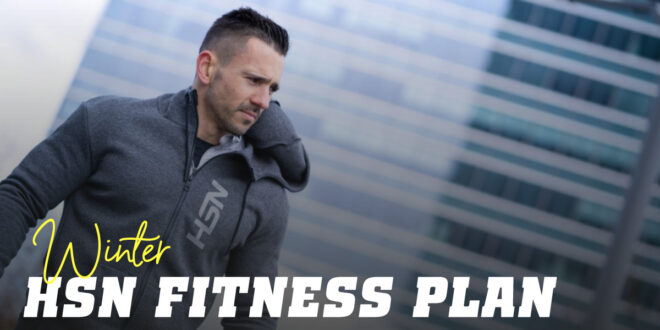 Winter Fitness Plan with HSN