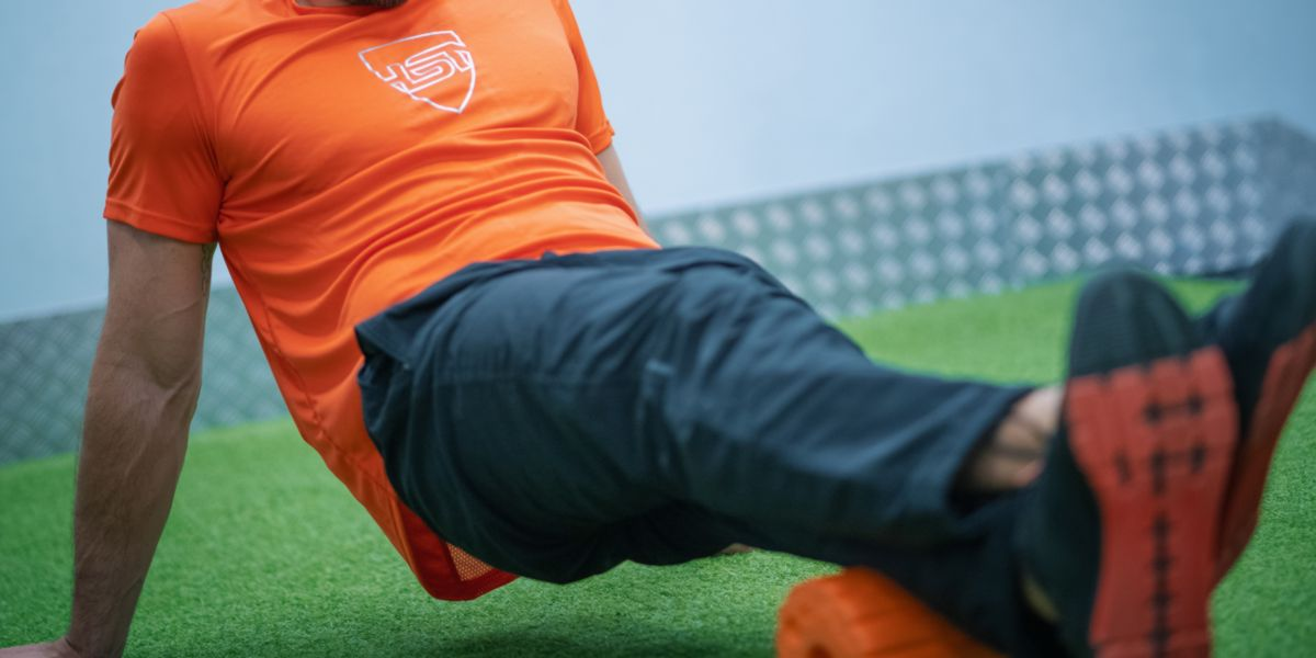 Foam-roller - How to Finish a Training Session Well