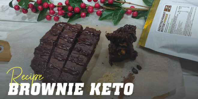 Keto Brownie: Chocolate Almond Flour but Sugar-Free