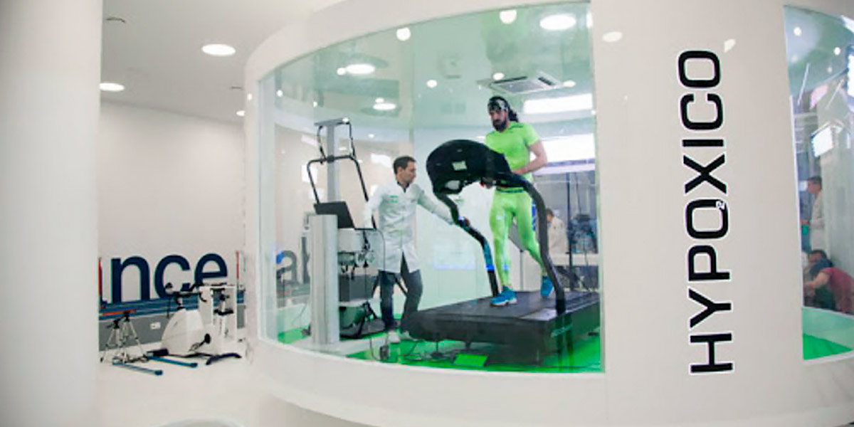 Simulating hypoxia training