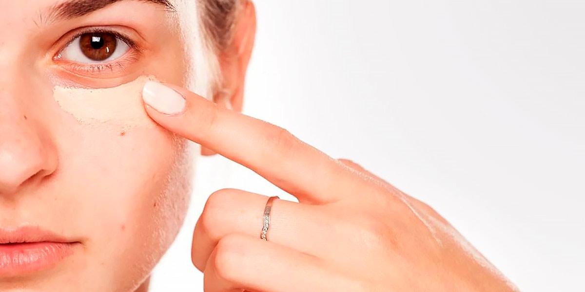 How to treat dark circlesunder the eyes