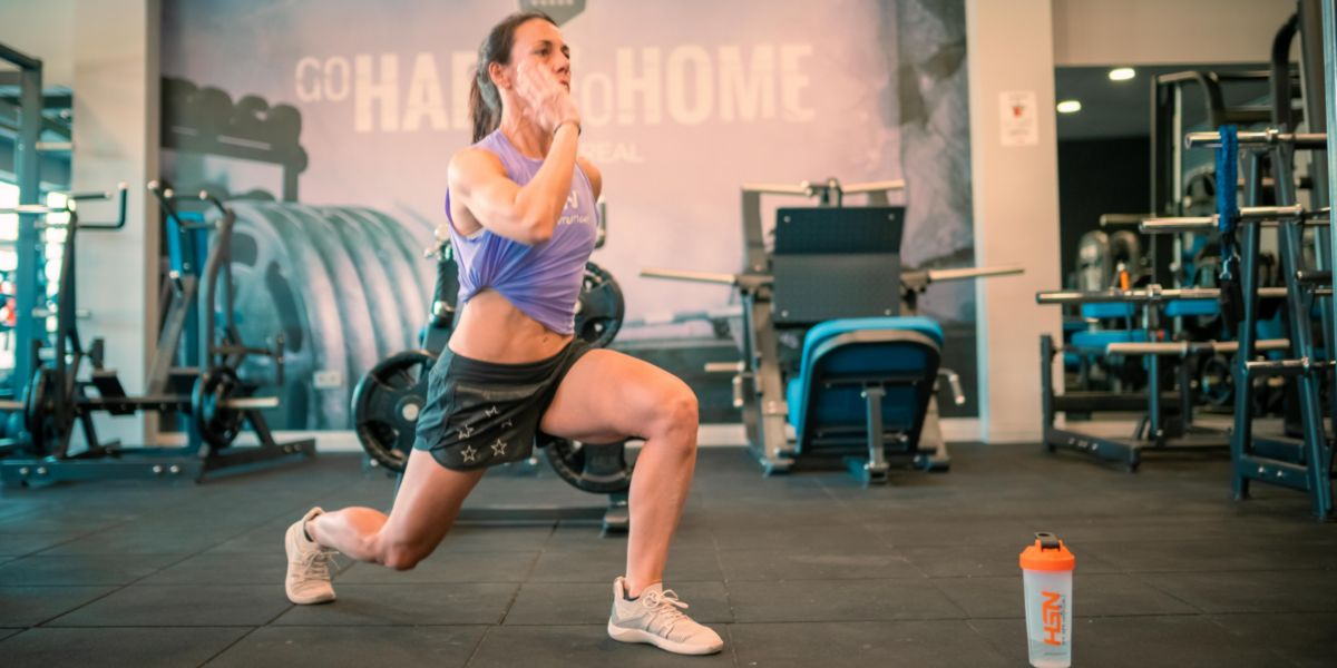 Lunges - exercises without weights