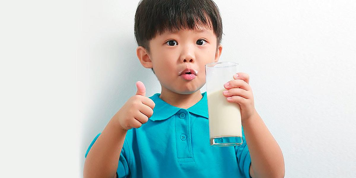 Milk children