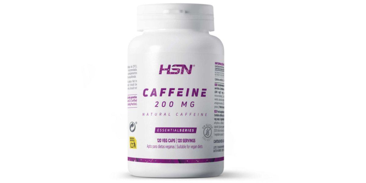 Natural caffeine caps