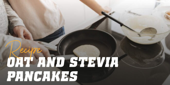 Oat and Egg Whites Pancake with Stevia