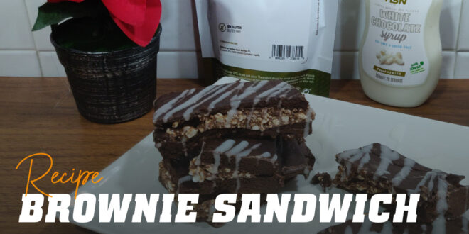 Brownie Sandwich: the Perfect Snack