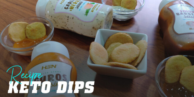 Keto Dips: Choose your Favourite Sauce and Start Dipping!