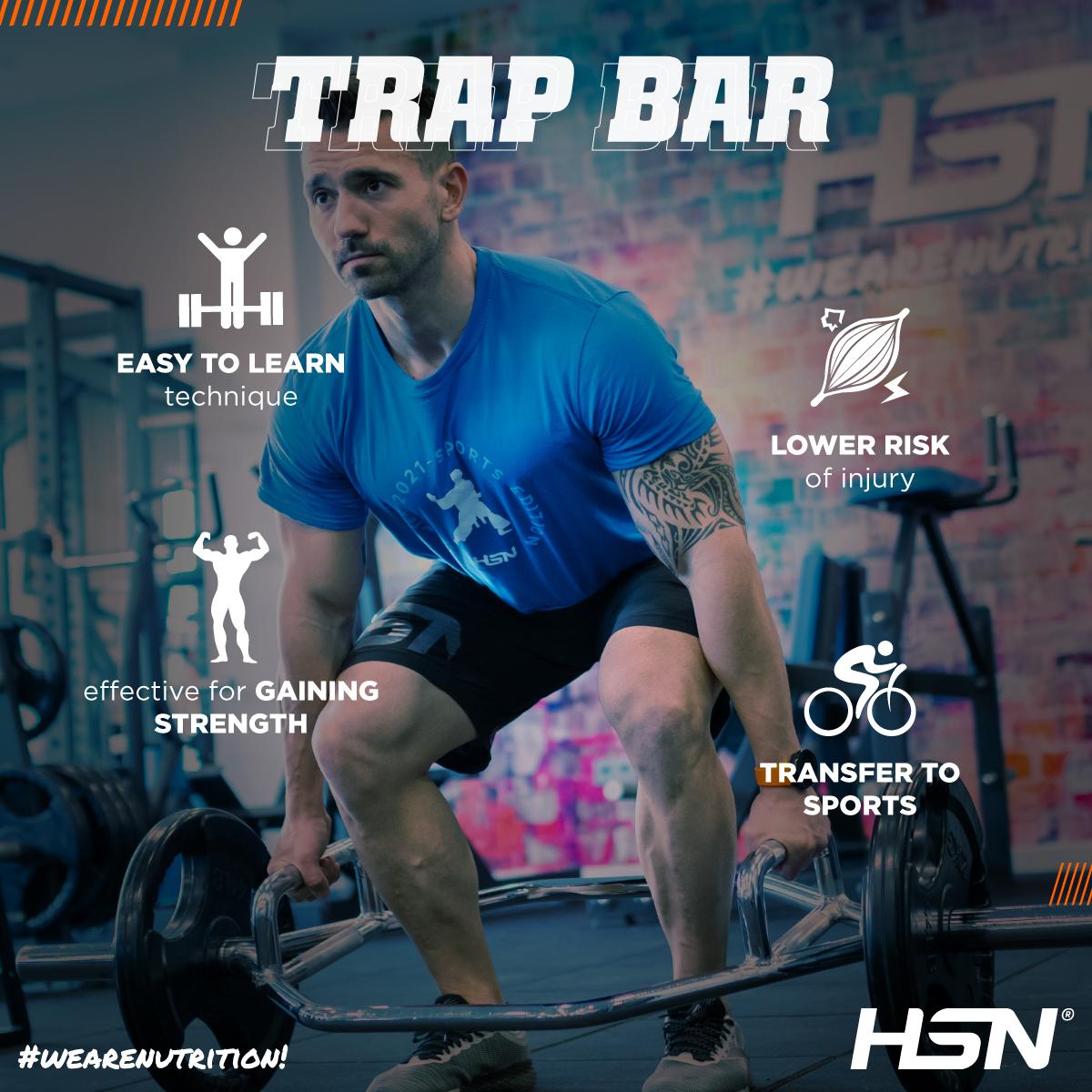 Trap Bar infographic