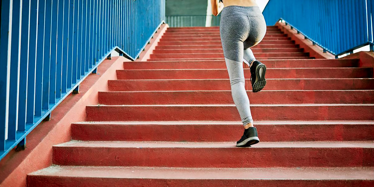 Strength work on stairs