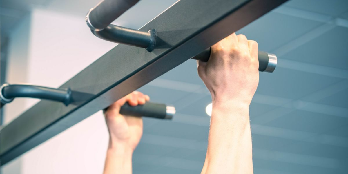 Pull-ups with neutral grip