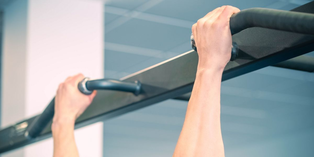 Pull-ups with pronel grip
