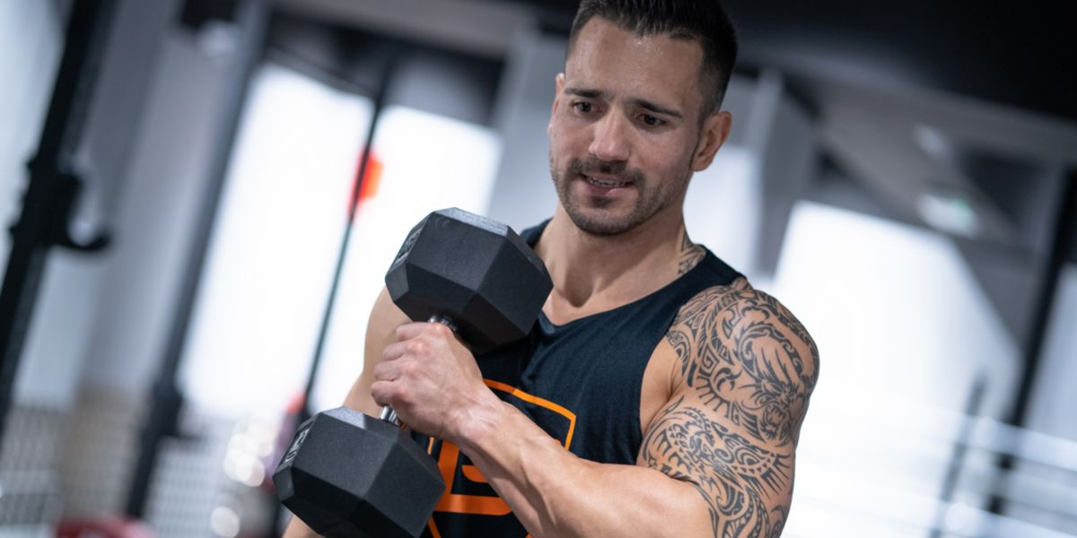Gain weight with weight training