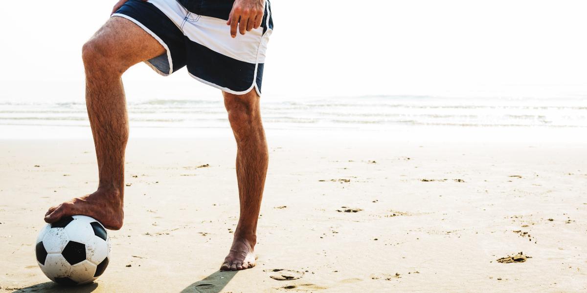 Practice outdoor sports in summer
